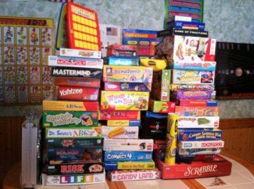 Family Night Board Games January 24, 2018
